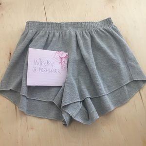 NWOT brandy Melville Ross thermal shorts